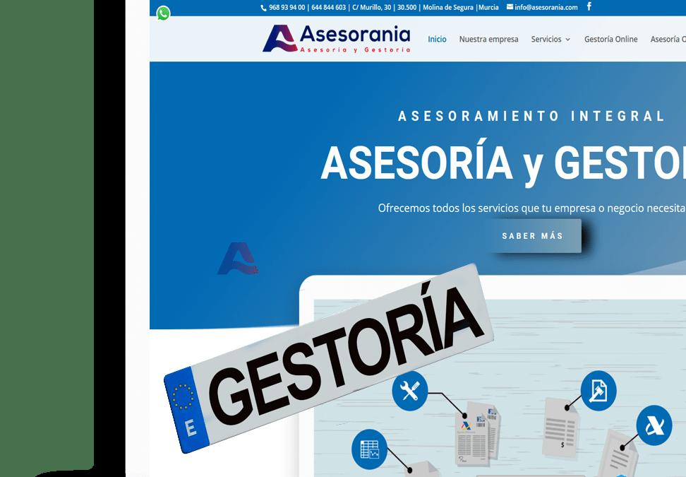 Nueva Web Asesorania